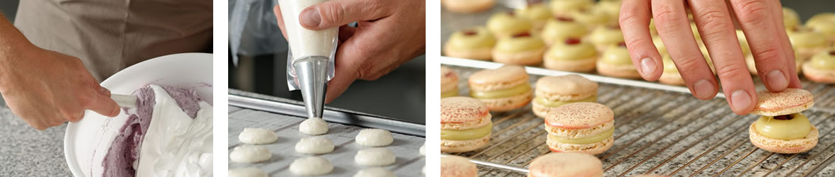 notre savoir faire (biscuits, macarons)